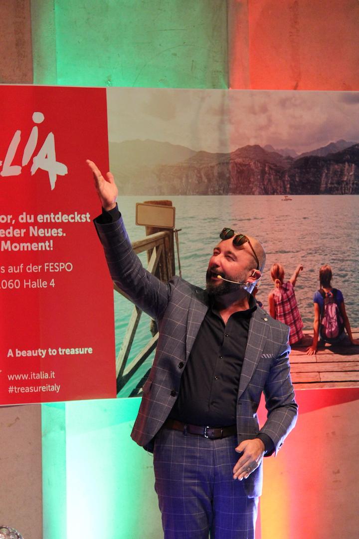Emmer Comedian Sergio Sardella